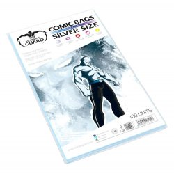 Ultimate Guard Comic Bags Resealable Silver Size (100)