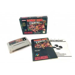 Super Nintendo – Donkey Kong Country (boxed)