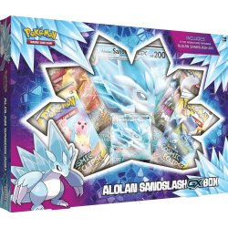 Pokémon TCG Alolan Sandslash-GX Box
