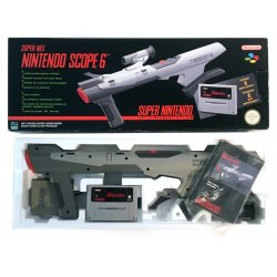 Super Nintendo - Super Nintendo – Nintendo Super Scope 6 -