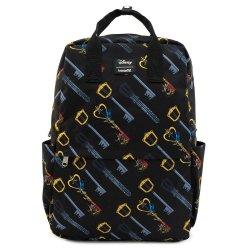 Disney by Loungefly Backpack Kingdom Hearts Keys AOP