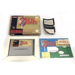 Super Nintendo – The Legend of Zelda: A Link To The Past + Map (boxed)