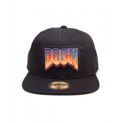 Doom Snapback Cap Label