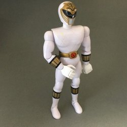 "Power Rangers: Mighty Morphing – 8"" White Ranger"