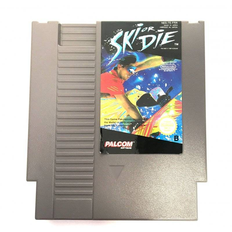 Nintendo Entertainment System (NES) - NES – Ski or Die -