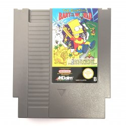 NES – The Simpsons Bart vs the World