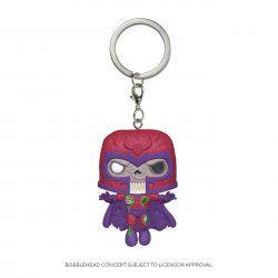 Marvel Pocket POP! Vinyl Keychain Zombie Magneto 4 cm