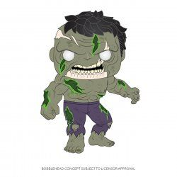 Marvel POP! Vinyl Figure Zombie Hulk 9 cm