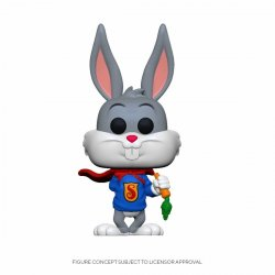 Bugs Bunny 80th Anniversary POP! Animation Vinyl Figure Super Bugs 9 cm