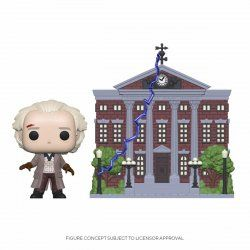 Back to the Future POP! Town Vinyl Figure Doc w/Clock Tower 9 cm