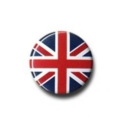 Button: Union Jack