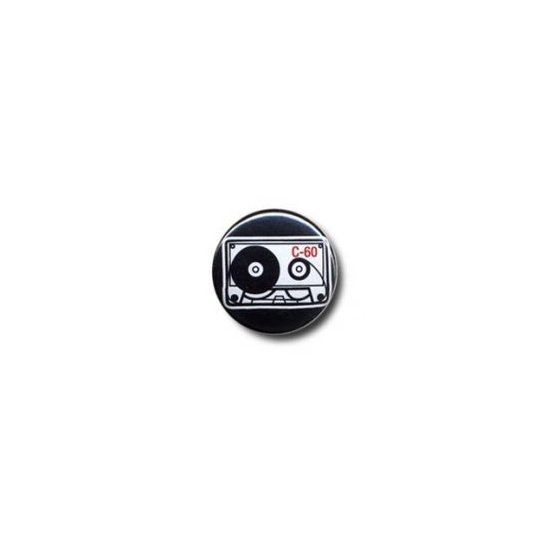 Button: Music Cassette