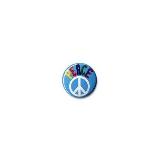 Button: Peace Symbol