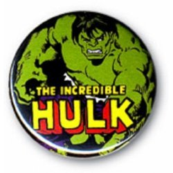 Button: Marvel – Hulk