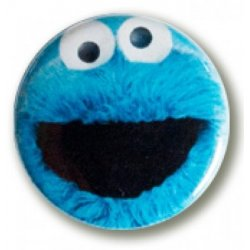 Button: Sesame Street - Cookie Monster