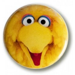 Button: Sesame Street - Big Bird