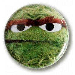 Buttons - Button: Sesame Street – Oscar -