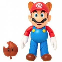 World of Nintendo 10 cm - Racoon Mario