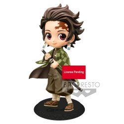 Demon Slayer Kimetsu no Yaiba Q Posket Mini Figure Tanjiro Kamado Ver. B 14 cm