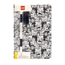 LEGO Notebook with Pen Minifigures