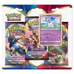 Pokemon: Sword & Shield 3 Pack Ponyta