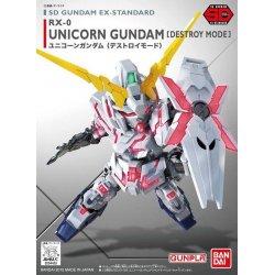 Gundam -  SD Ex-Std : RX-0 Unicorn Gundam [Destroy Mode]