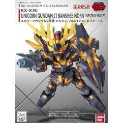 Gundam -  SD Ex-Std : RX-0(N) Unicorn Gundam 02 Banshee Norn [Destroy Mode]