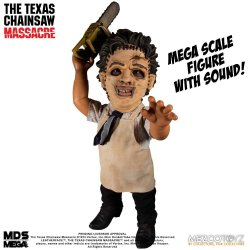 Texas Chainsaw Massacre Mega Scale Action Figure with Sound Feature Leatherface 38 cm