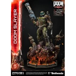 Doom Eternal Statue Doom Slayer Deluxe Version 110 cm