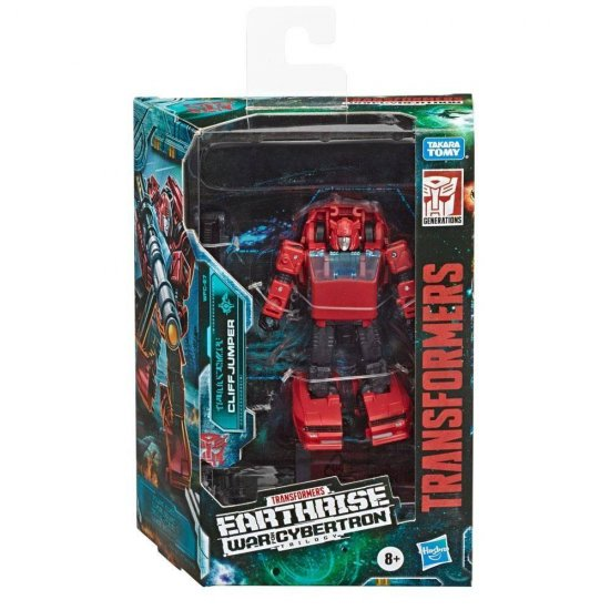 Transformers Generations War for Cybertron: Earthrise Deluxe - Cliffjumper