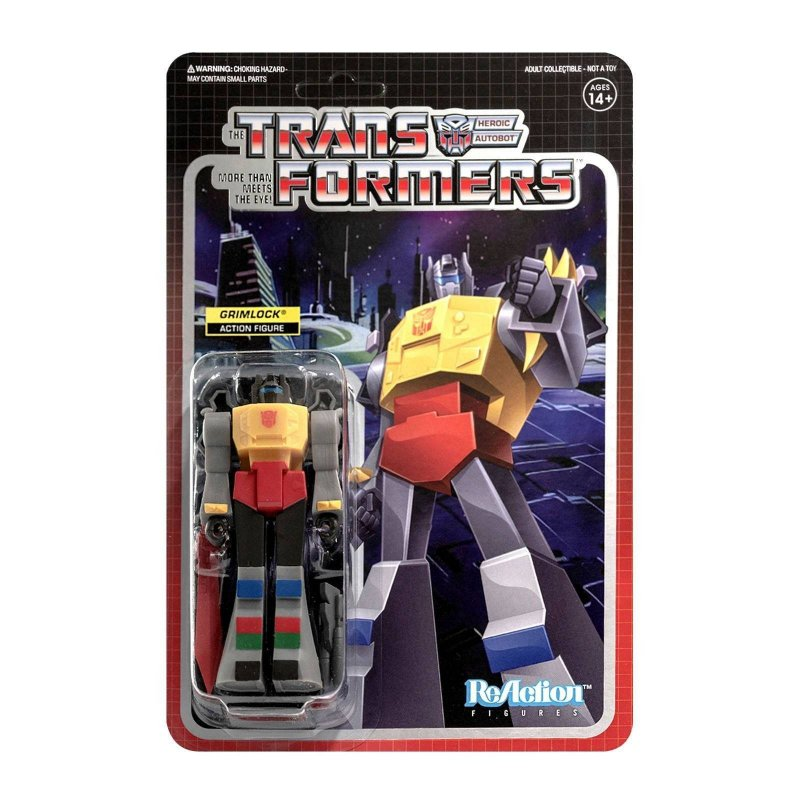 Transformers ReAction Action Figure Wave 2 Grimlock 10 cm