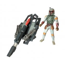 Star Wars: Power Of The Force - Boba Fett with Firing Missile launcher