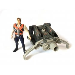 Star Wars: Power Of The Force - Han Solo with Smuggler's Flight Pack