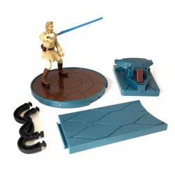 Star Wars: Saga - Obi-Wan Kenobi with Force -Flipping Attack!