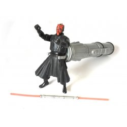 Star Wars: Episode 1 - Deluxe Figures- Darth Maul (Jedi Duel)