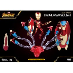 Avengers Infinity War Egg Attack Iron Man Nano Weapon Set
