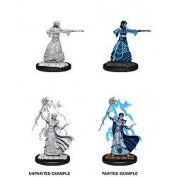 D&D Nolzur's Marvelous Miniatures Unpainted Miniatures Female Elf Wizard Case (6)