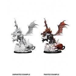 Pathfinder Battles Deep Cuts Unpainted Miniatures Nightmare Dragon Case (6)