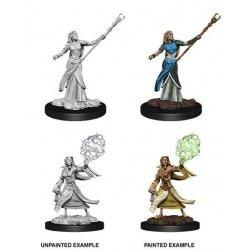 D&D Nolzur's Marvelous Miniatures Unpainted Miniatures Female Elf Sorcerer Case (6)