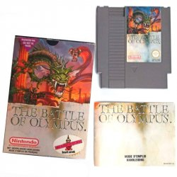 NES - The battle of Olympus (CIB)