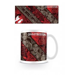 Ghostbusters Mug Illustrative Strips