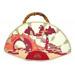 Disney by Loungefly Bamboo Fan Handbag Mulan Bamboo Fan