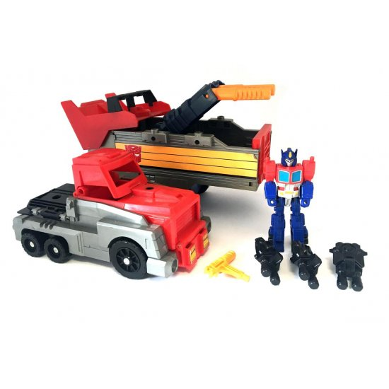Transformers G1: Action Masters – Armored Convoy with Optimus Prime