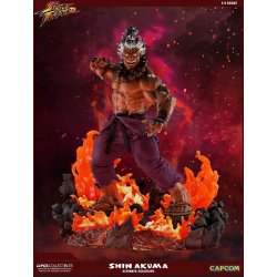 Street Fighter Mixed Media Statue 1/4 Shin Akuma Ultimate Exclusive 58 cm
