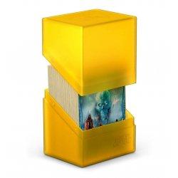 Ultimate Guard Boulder™ Deck Case 80+ Standard Size Amber