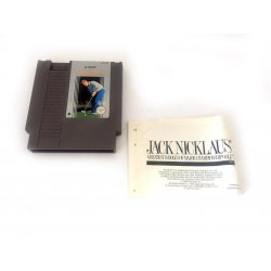 NES – Jack Nicklaus Golf (with Manual)