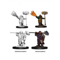 D&D Nolzur's Marvelous Miniatures Unpainted Miniatures Male Dwarf Cleric Case (6)
