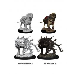 D&D Nolzur's Marvelous Miniatures Unpainted Miniatures Mastif & Shadow Mastif Case (6)
