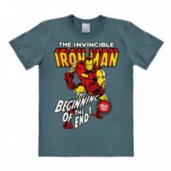 Iron Man - T-Shirt Easy Fit - Stone Blue