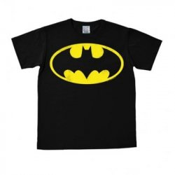 Batman - Logo - T-Shirt Easy Fit – Black